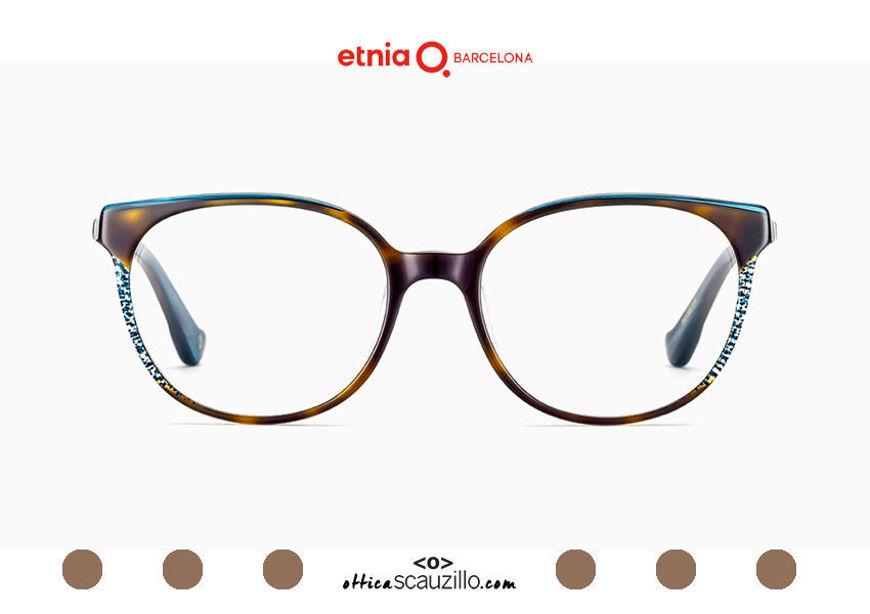 Acquista online su otticascauzillo.com il tuo nuovo occhiale da vista cat eye oversize Etnia Barcelona in acetato HANNAH BAY col. HVBL