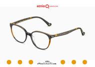 Acquista online su otticascauzillo.com il tuo nuovo occhiale da vista cat eye oversize Etnia Barcelona in acetato HANNAH BAY col. BKBR