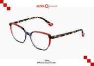 Acquista online su otticascauzillo.com il tuo nuovo occhiale da vista quadrato Etnia Barcelona in acetato NIAGARA col. BKHV