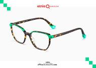 Acquista online su otticascauzillo.com il tuo nuovo occhiale da vista quadrato Etnia Barcelona in acetato NIAGARA col. HVGR