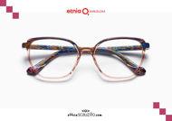 Acquista online su otticascauzillo.com il tuo nuovo occhiale da vista quadrato Etnia Barcelona in acetato NIAGARA col. PKBL