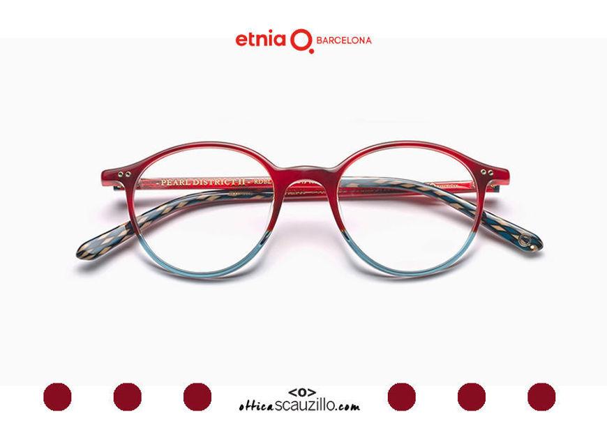 Acquista online su otticascauzillo.com il tuo nuovo occhiale da vista tondo Etnia Barcelona in acetato PEARL DISTRICT II col. RDBL