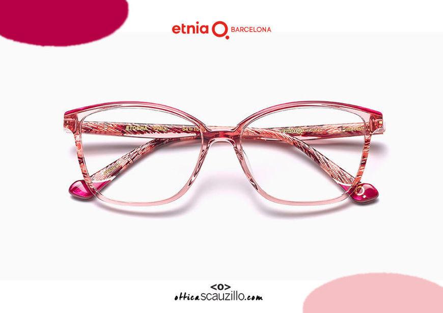 Acquista online su otticascauzillo.com il tuo nuovo occhiale da vista cat eye oversize Etnia Barcelona in acetato ETHOSA col. PKBX