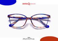 Acquista online su otticascauzillo.com il tuo nuovo occhiale da vista cat eye oversize Etnia Barcelona in acetato ETHOSA col. BL