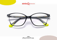 Acquista online su otticascauzillo.com il tuo nuovo occhiale da vista cat eye oversize Etnia Barcelona in acetato ETHOSA col. BKWH