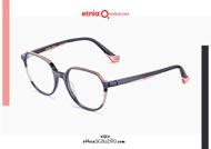 Acquista online su otticascauzillo.com il tuo nuovo occhiale da vista tondo Etnia Barcelona in acetato IGUAZU col. BKPK