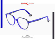 Acquista online su otticascauzillo.com il tuo nuovo occhiale da vista tondo Etnia Barcelona in acetato IGUAZU col. BL