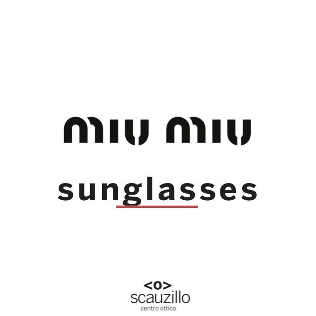 miu mid new sunglasses otticascauzillo